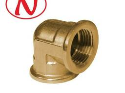 "Brass Fitting 90 Elbow 3/4""F-3/4""F /HS"
