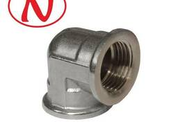 """Brass Fitting 90 Elbow 3/4""""F-3/4""""M (Nikel) /HS"""