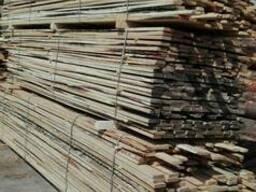 Доска обрезная 3 сорт 25*100 хвойных и лиственных пород