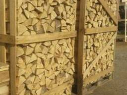 Дрова каминные сухие и естественной влажности