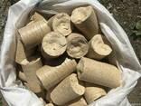 Изготавливаем брикет Nestro дуб, бук, граб, хвоя