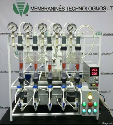 Лабораторные электродиализные аппараты и установки