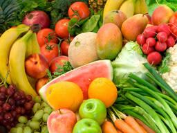 Овощи, фрукты, ягоды в Германию