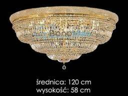 Плафон светильник хрустальный Ronald 120 см