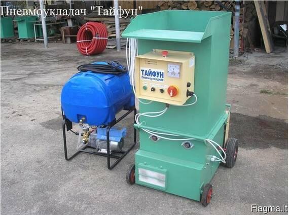 """Пневмовыдувное оборудование - установка """"Тайфун""""."""