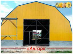Полукруглые быстровозводимые ангары /склады/модульные здания - photo 1