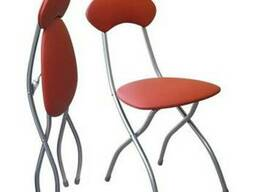 Складной мягкий стул.