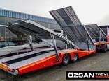 2 axle 6 Car carrier Semi-trailer new - фото 2