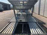 2 axle 6 Car carrier Semi-trailer new - фото 7