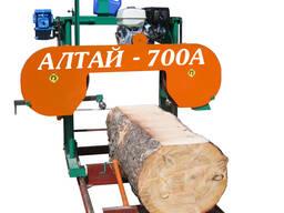 Алтай 700А Ленточная бензиновая пилорама