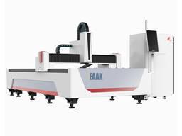 CNC pluošto lazeriu metalo pjaustymo mašina