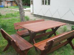 Изготовление садовой мебели для беседки, дачи, сада.