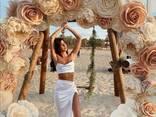 Izolon, skirtas gaminti didelis milžiniškas gėlės, šviestuvai ir kitos gražios dekoracij - photo 11