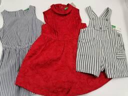 Kids Benetton mix- Детская одежда сток оптом.