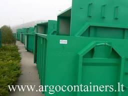 Metaliniai užtraukiami konteineriai