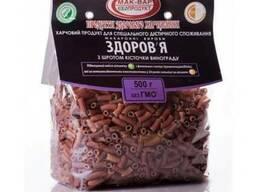 """Макароны """"Здоровье"""" с растительными добавками, 500 г - фото 1"""