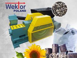 Машина для изготовления топливных брикетов и пеллет