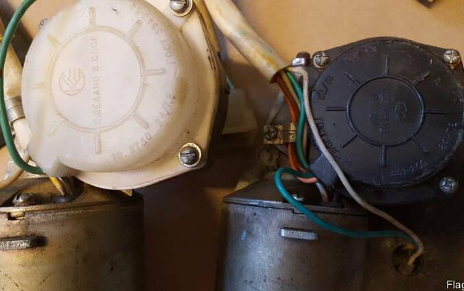 Мотор-редуктор стеклоочистителя 351-200 24/7,2