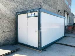 Офисные / бытовые / санитарные строительные контейнеры