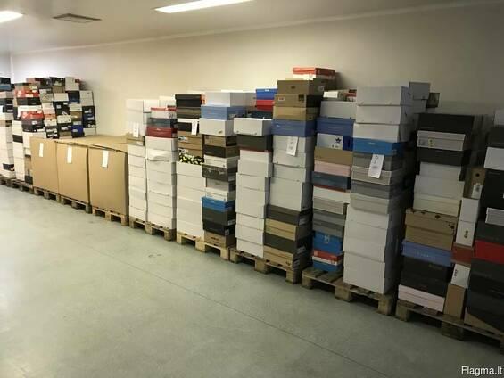 Оптовая торговля stock обувью из Германии