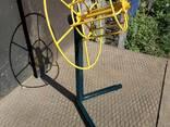 Vielos ritės kabelio atsuktuvas , размотчик кабеля катушек проволки - фото 5