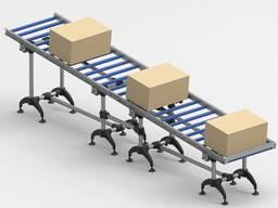Roller transporter gravity conveyor 4 meters