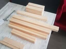 S4S строганная доска . мебельная заготовка