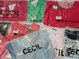 Street One/CECIL-брендовая женская одежда микс весна-лето оптом.