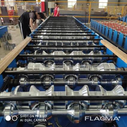 Высокоскоростная линия для производства профнастила