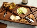 Wooden dishes and plates - photo 7